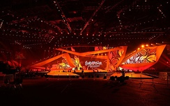 Stage design of the contest.