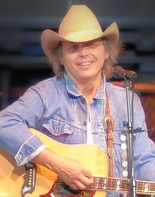 Dwight Yoakam performing at the San Diego County Fair in June 2008
