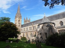 Llandaff Cathedral, an Anglican cathedral, the parish church of Llandaff, the seat of the Bishop of Llandaff, the head of the Church in Wales