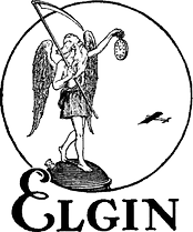 "Elgin National Watch Company ""Father Time"" logo"