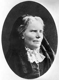 Elizabeth Blackwell, the first female physician to receive a medical degree in the United States.