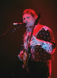 Lake in 1992, performing with ELP