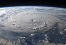 Hurricane Felix seen from low Earth orbit, September 2007