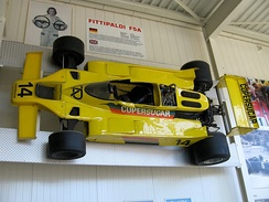 Fittipaldi F5A: The aerodynamics modified version of the F5 was designed by Giacomo Caliri.