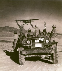 Israeli Defense Forces (IDF) Dodge jeep in the taking of the Sinai peninsula (1956)