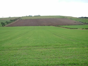The land where the Battle of Flodden was fought