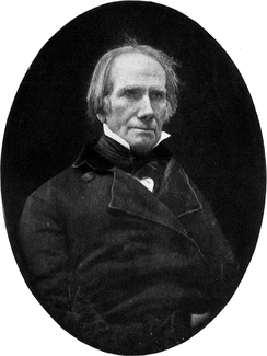 Daguerreotype portrait of Henry Clay – Clay was a major political influence on Lincoln throughout his career