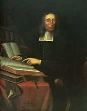 Portrait of Increase Mather, namesake of Mather House, by Joan van der Spriet.