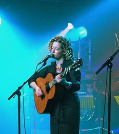 Kate Rusby on stage 2005