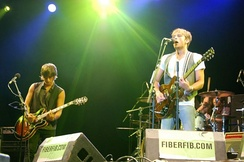 The band performing at the Festival Internacional de Benicàssim in 2007