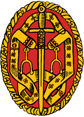 The insignia of a Knight bachelor devised in 1926.