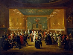 A Masquerade at the King's Theatre, Haymarket (c. 1724)