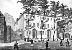Mortzenhaus, the company's seat from 1788