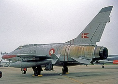 Operational Danish AF F-100D Super Sabre in 1965