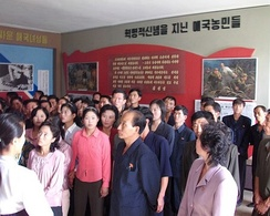 North Koreans touring the Museum of American War Atrocities in 2009