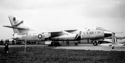 Newly arrived Douglas RB-66B-DL Destroyer serial 54-0511 of the 30th TRS, 1957