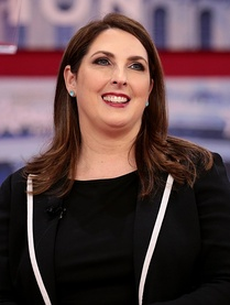 Current RNC Chair Ronna Romney McDaniel