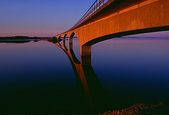 The bridge to Seskarö, Sweden