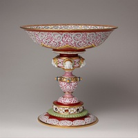 Cup, 1837, imitating Renaissance metalwork and Limoges enamel
