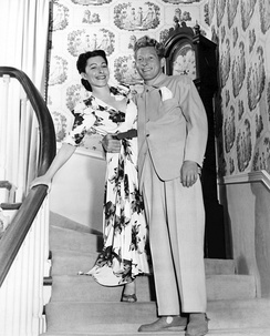 Sylvia and Danny Kaye, 1945