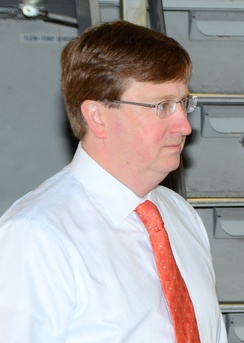 Current Lieutenant Governor Tate Reeves
