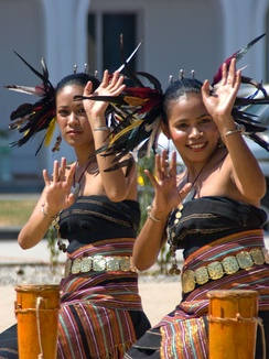 East Timorese dancers