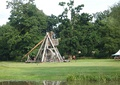 The Warwick Castle trebuchet is currently the largest one in the world (2009)