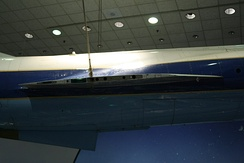 Side view of NASA YF-104A showing thinness of wing and sharpness of leading edge