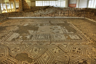 Some sumptuous Roman villas featured complex floor mosaics, such as Villa Armira in modern Bulgaria