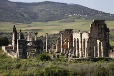 Berber ruins of Volubilis.