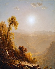 October in the Catskills, 1880 painting by Sanford Robinson Gifford