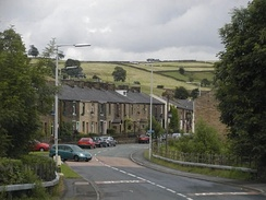 Older housing in Walk Mill