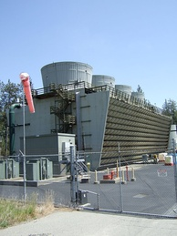 Geothermal plant at The Geysers, California, US