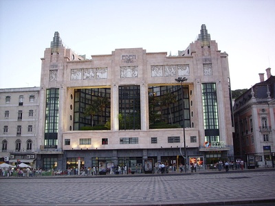Éden Theater in Lisbon, Portugal (1931)
