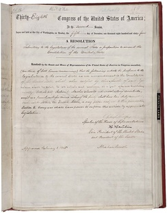 Text of the 13th Amendment