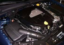 2.8 L turbo V6 in a 2006 Saab 9-3