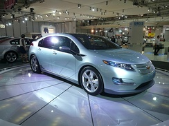 First production version of the Chevrolet Volt at the 2008 Australian International Motor Show