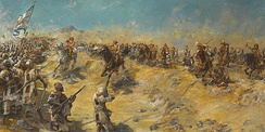 The charge of the 21st Lancers at Omdurman
