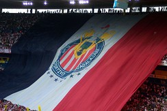 Chivas banner at a game