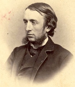 White, in 1865, when he co-founded Cornell University with Ezra Cornell.