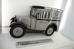 BMW model 3/15PS (BMW Dixi) from 1930