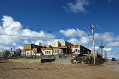 The regional network centre for CBC North in Iqaluit