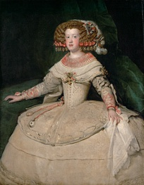 Maria Theresa, whose marriage to Louis XIV was part of the peace negotiations