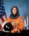 Ellen Ochoa became the first Hispanic woman in the world to go into space. She is the current director of the Johnson Space Center.