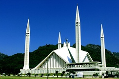 "Faisal Mosque in Islamabad is named after a Saudi king. The kingdom is a strong ally of Pakistan. WikiLeaks claimed that Saudis are ""long accustomed to having a significant role in Pakistan's affairs"".[257]"
