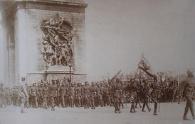 The Siamese Expeditionary Force in Paris, 1919