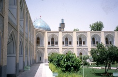 The Mothers Inn caravanserai in Isfahan, that was built during the reign of Shah Abbas II, was a luxury resort meant for the wealthiest merchants and selected guests of the shah. Today it is a luxury hotel and goes under the name of Hotel Abassi.