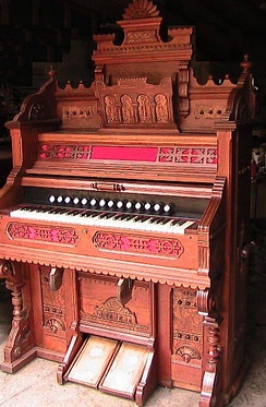 John Church and Co. pump organ