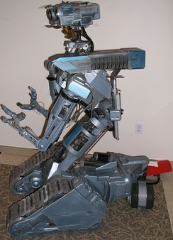 Original Number 5 robot from the first Short Circuit film.