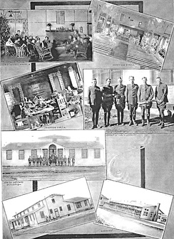 Scenes from Kelly Field during World War I